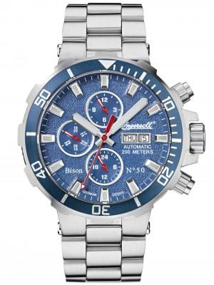 Мъжки часовник Ingersoll Bison No.50 IN1314BLMB