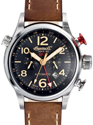 Мъжки часовник Ingersoll Lawrence IN3218BK GMT