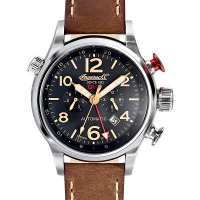Мъжки часовник Ingersoll Lawrence IN3218BK GMT