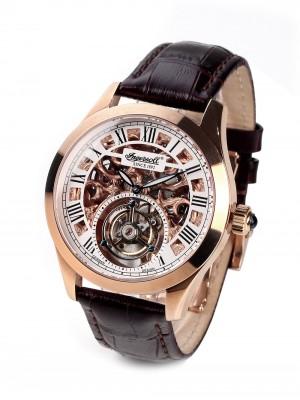Мъжки часовник Ingersoll Golden Spike IN5102RG Tourbillon