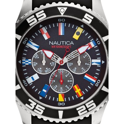 Мъжки часовник Nautica NST 07 Flag A12626G Multifunction