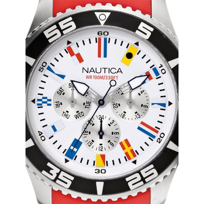 Мъжки часовник Nautica NST 07 Flag A12628G Multifunction