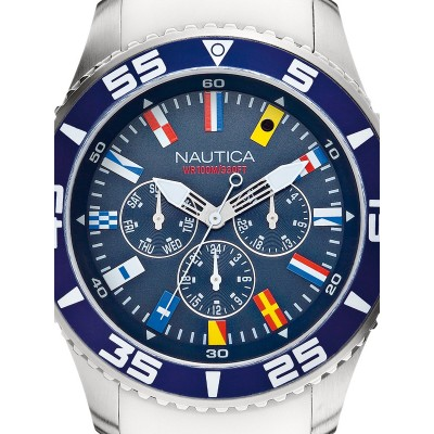 Мъжки часовник Nautica NST 07 Flag A12629G Multifunction