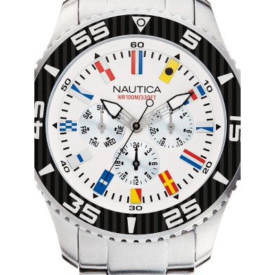 Мъжки часовник Nautica NST 07 Flag A14630G Multifunction