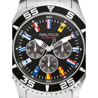 Мъжки часовник Nautica NST 07 Flag A14631G Multifunction