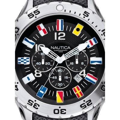 Мъжки часовник Nautica NST Chrono Flag A24520G