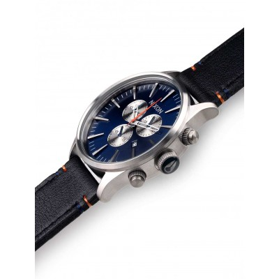 Мъжки часовник Nixon Sentry Chrono Leather A405-1258
