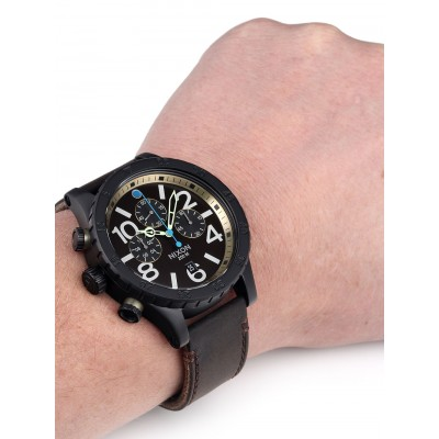 Мъжки часовник Nixon 48-20 Chrono Leather A363-2209