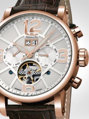 Мъжки часовник Perigaum P-1111-IR-W-Brle