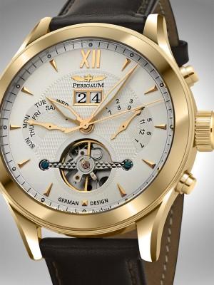 Мъжки часовник Perigaum P-1112-IG-W-BRLE