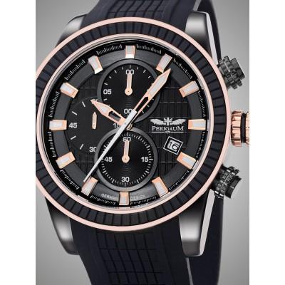 Мъжки часовник Perigaum Admiral P-1312-IBR-S-PU