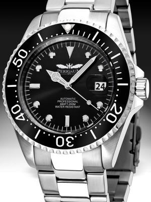 Мъжки часовник Perigaum Pro-Diver P-1308-SS-BK