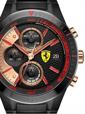 Мъжки часовник Scuderia Ferrari Red Red Evo 0830305 Chrono