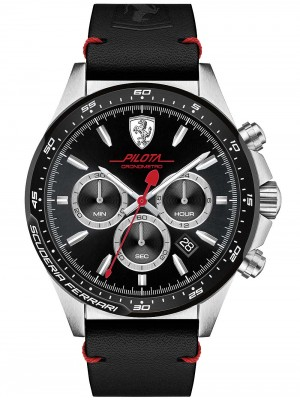 Мъжки часовник Scuderia Ferrari Pilota 0830389 Chrono