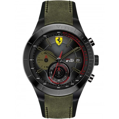 Мъжки часовник Scuderia Ferrari Red Rev Evo 0830397