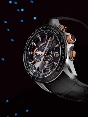 Мъжки часовник Seiko Astron GPS Solar SSE061J1 Dual-Time