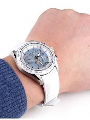 Мъжки часовник Seiko Astron GPS Solar SSE063J1 Dual-Time
