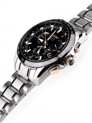 Мъжки часовник Seiko Astron GPS Solar SSE073J1 Dual-Time