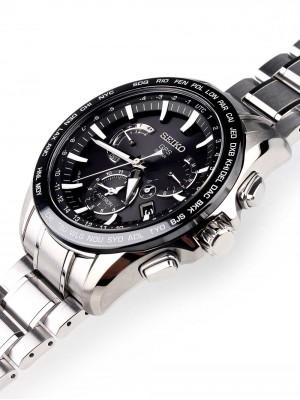 Мъжки часовник Seiko Astron GPS Solar SSE077J1 Dual-Time