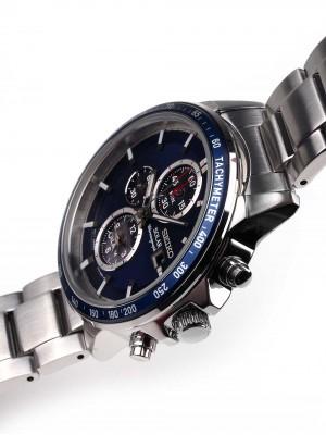 Мъжки часовник Seiko Solar SSC431P1 Alarm-Chrono