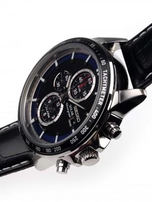 Мъжки часовник Seiko Solar SSC437P1 Alarm-Chrono