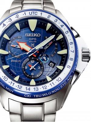 Мъжки часовник Seiko Prospex Marinemaster SSF001J1 GPS Solar
