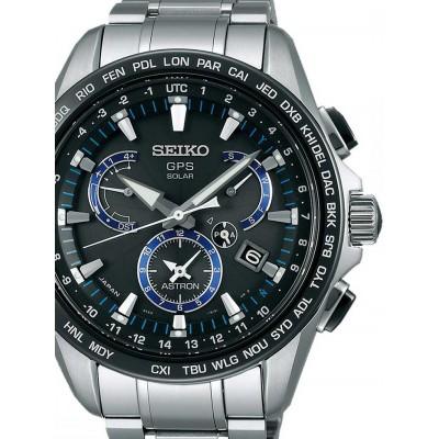 Мъжки часовник Seiko Astron SSE101J1 Dual-Time