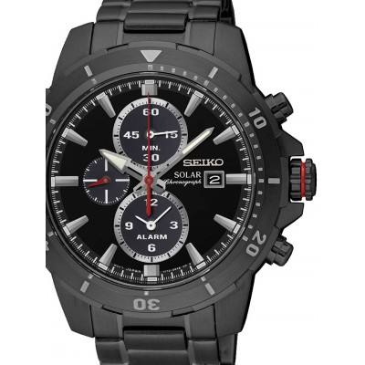 Мъжки часовник Seiko Solar SSC559P1 Alarm Chrono