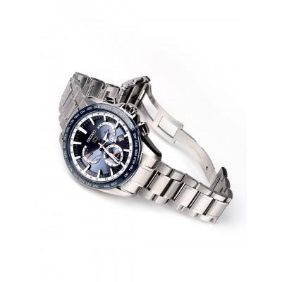 Мъжки часовник Seiko Astron SSE053J1 GPS Solar Dual-Time