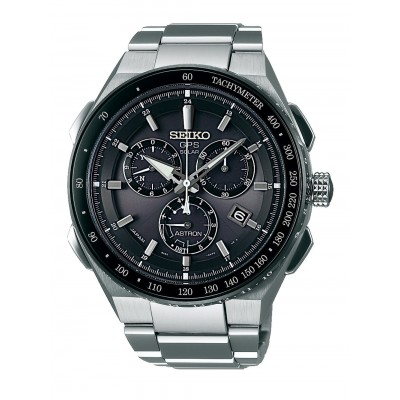 Мъжки часовник Seiko Astron Solar Chrono SSE129J1 Limited
