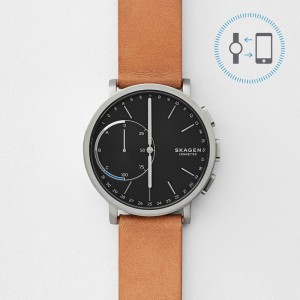 Мъжки смарт часовник Skagen Connected SKT1104 CA Hagen Titanium