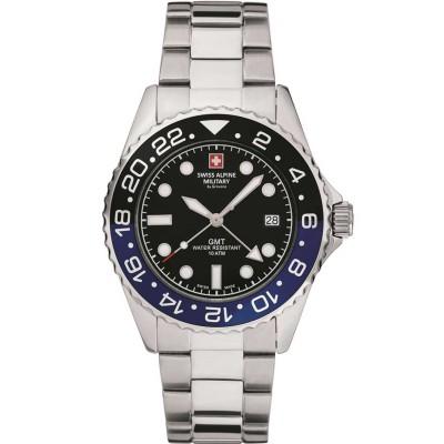 Мъжки часовник Swiss Alpine Military 7052.1132 GMT Diver