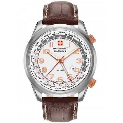 Мъжки часовник Swiss Military Hanowa Worldtimer 06-4293.04.001