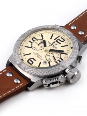 Мъжки часовник TW Steel Canteen Leather CS14 Chrono