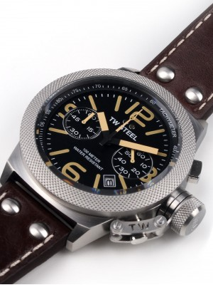Мъжки часовник TW Steel Canteen Leather CS33 Chrono