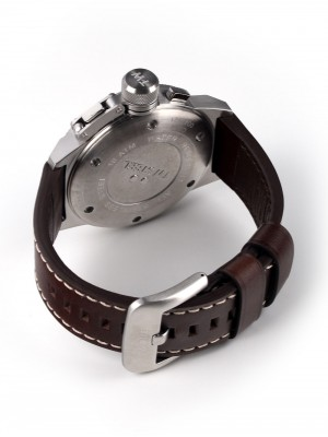 Мъжки часовник TW Steel Canteen Leather CS34 Chrono