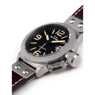 Мъжки часовник TW Steel Canteen Leather CS35 Automatic