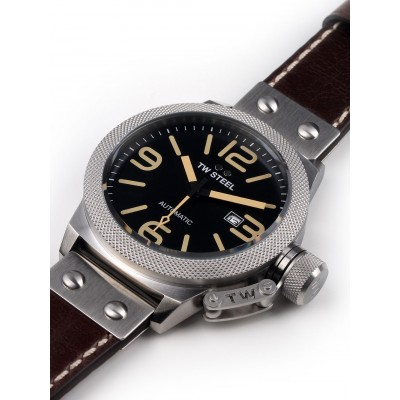 Мъжки часовник TW Steel Canteen Leather CS36 Automatic