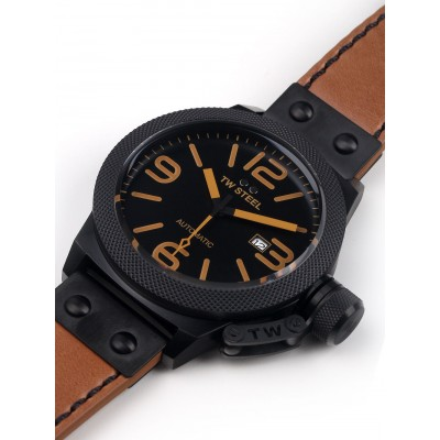 Мъжки часовник TW Steel Canteen Leather CS46 Automatic