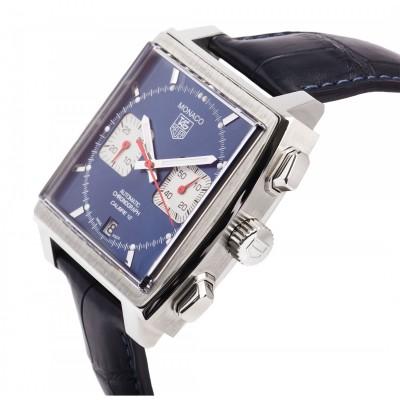 Мъжки часовник TAG Heuer Monaco Calibre 12 CAW2111.FC6183