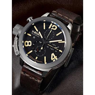 Мъжки часовник U-Boat Classico Titanium 8061 Chrono