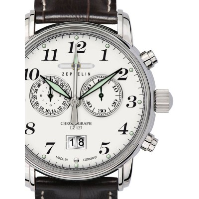 Мъжки часовник Zeppelin LZ 127 Graf Zeppelin 7686-1 Chrono