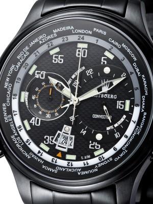 Мъжки часовник Astboerg Convector AT10291SMB