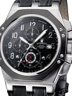 Мъжки часовник Astboerg Oktagon AT3062SS