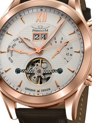 Мъжки часовник Perigaum P-1112-IR-W-BRLE