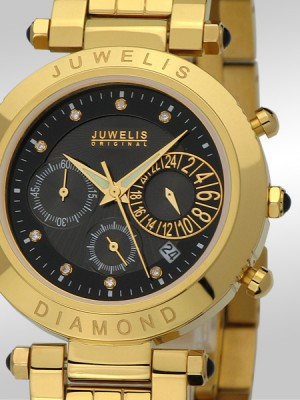 Мъжки часовник Juwelis JW-0601-GS-BRC