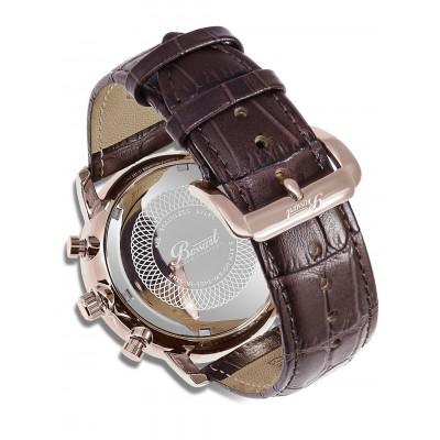 Мъжки часовник Bossart Atman BW-1401-IR-SI-Br
