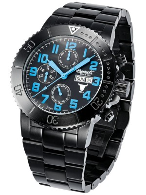 Мъжки часовник Ingersoll Bison IN1304BKBL