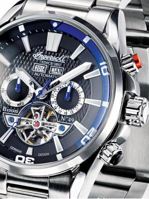 Мъжки часовник Ingersoll Bison No.49 IN1507BKBL