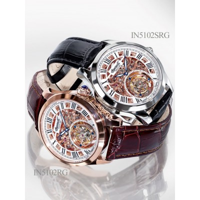 Мъжки часовник Ingersoll Golden Spike IN5102SRG Tourbillon